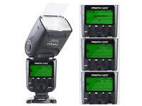 Photoolex M800C 1/8000s Flash Speedlite 580EX II TTL Speedlight for Canon