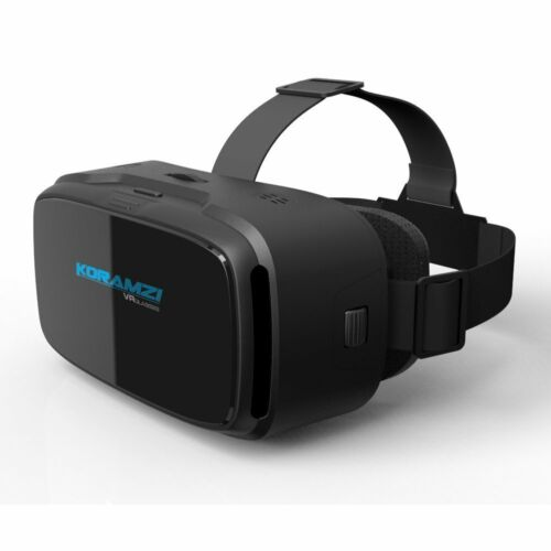 VR 3D Virtual Reality Headset Glasses for Smartphone 4-6 inches KORAMZI VR-233