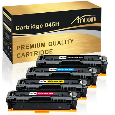 4 Pack for Canon 045 H Toner Cartridge imageClass MF632Cdw MF634Cdw LBP612Cdw
