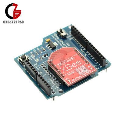 Hc-05 Rf Wireless Bluetooth Bee V2.0 Module Xbee V03 Shield Board For Arduino