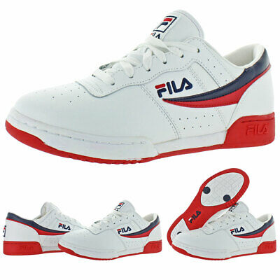 Original Fitness Sneaker - Fila Men's Original Fitness Leather Retro Classic Athletic Trainer Sneaker