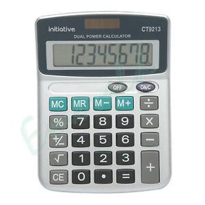 Calculator Fixed Angle Display Large Keys - 8 Digit Semi Desktop