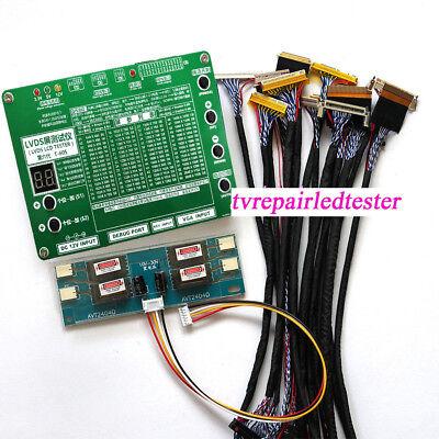 16 in 1 LCD LED Panel Tester Tool Kit For TV Laptop Computer LVDS Screen Repair Screen Panel Kit