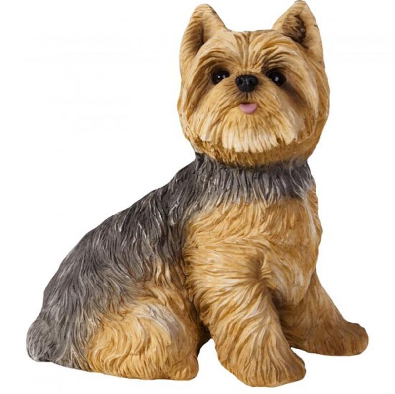 Yorkie Figurine Hand Painted - Sandicast