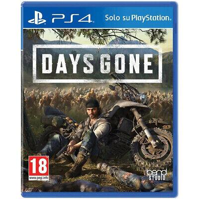 DAYS GONE PS4 - PLAYSTATION 4 - ITALIANO - IN OFFERTA ORA !!!