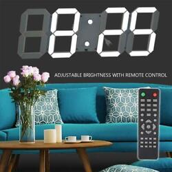 Large Digital LED Clock/Wall Alarm Countdown Timer Temperature Time Date Display