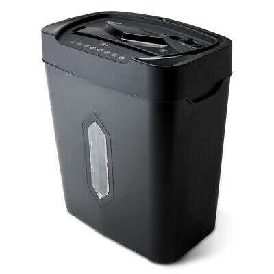 5.2 Gallon Wastebasket Heavy Duty Paper Shredder 12 Sheet Cross Cut Ultra Quiet