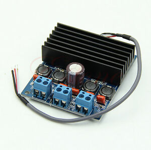 Amplifier Board TDA7492 D Class High-Power Digital 2x50W AMP Board with Radiator