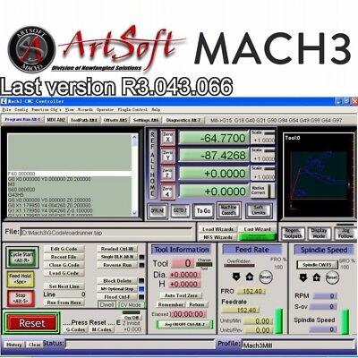Mach3 Software cnc