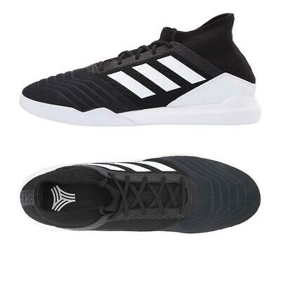 Adidas NEW Men's Predator 19.3 TR Trainers Mid Cut Lace Up Soccer Shoes Mid Cut Trainer
