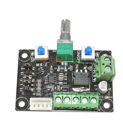 12v-24v Stepper Motor Driver Controller Pwm Pulse Signal Generator Speed Control