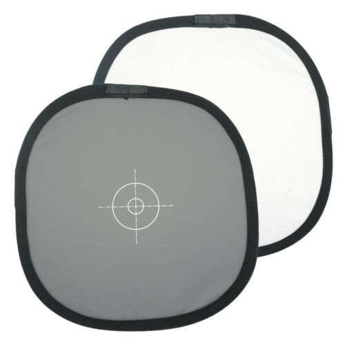 """12""""/30cm 2-Sided Collapsible White Balance Disc 18% Gray Panel+Target Reflector"""
