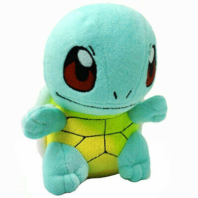 Pokemon Squirtle Stand Figures Plush Soft Toy Stuffed Doll 6'' Kid Baby Gift](Plush Toy)