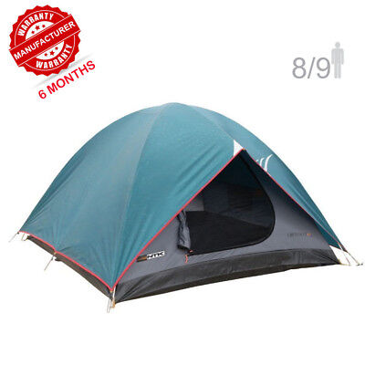 fb4006ee1c NTK Cherokee GT 8 to 9 Person 10 x 12 Ft Sport Camping Dome Tent 100%  Waterproof