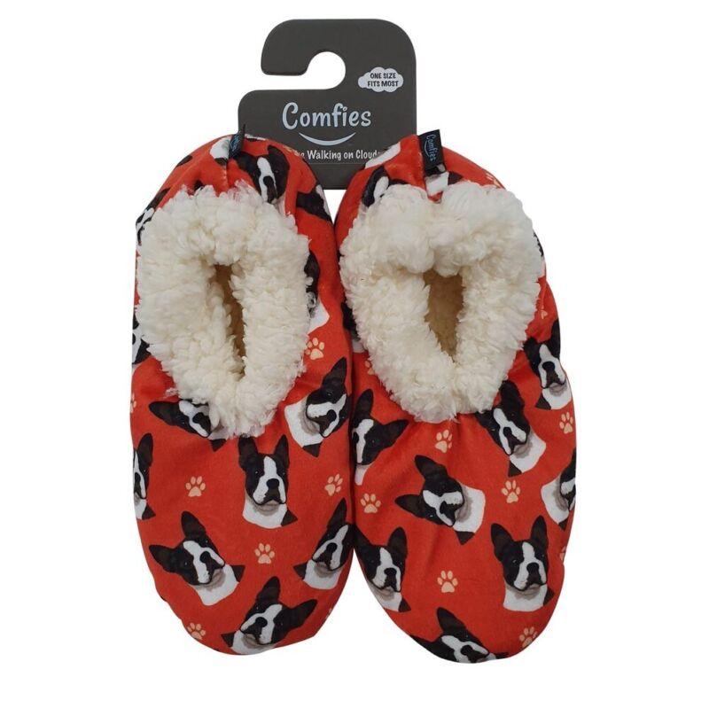 Boston Terrier Slippers - Non Slip