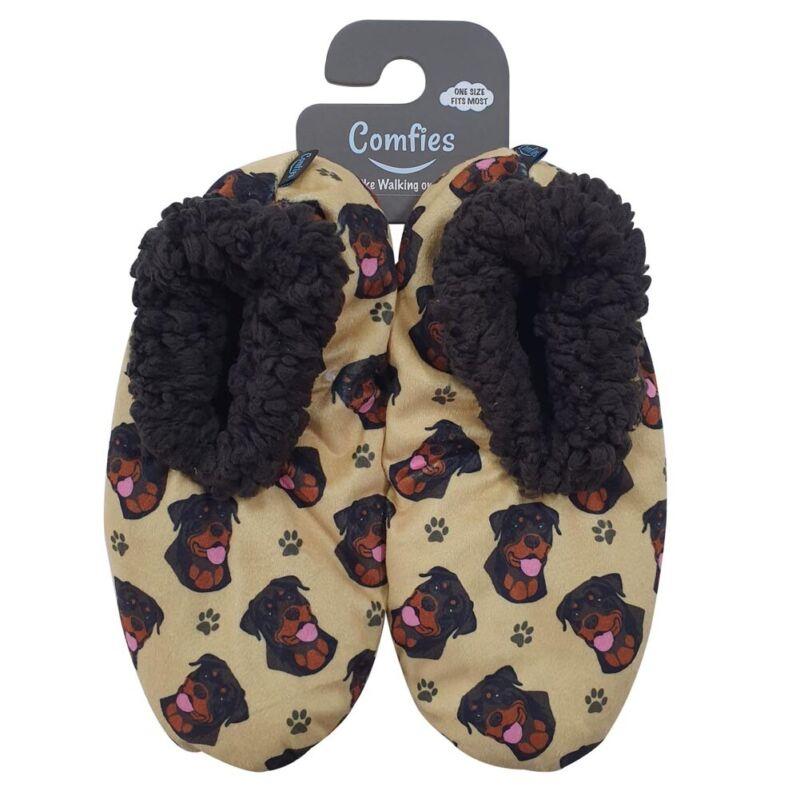 Rottweiler Slippers - Non Slip