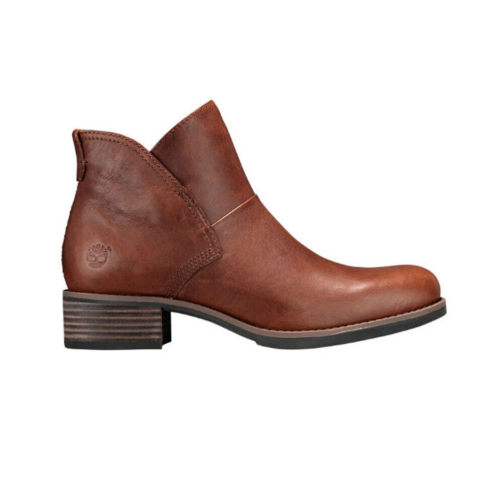 New Timberland Women's Beckwith Chelsea Boot Brown 6