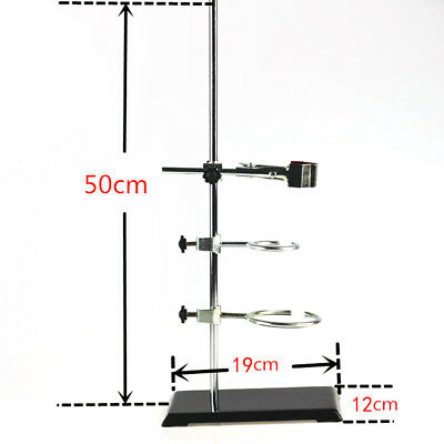 50cm Lab Support Stands Ring Clamp For Supporting Laboratory Tube Flask
