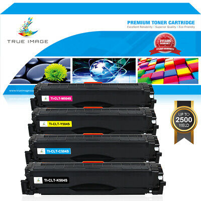 4PK Color CLT-K504S Toner Cartridges for Samsung SL-C1810W SL-C1860FW CLX-4195FW (Clx 4195fw Color)
