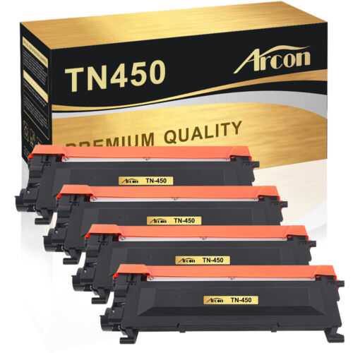 4PK TN450 Toner Compatible for Brother HL-2270DW HL-2280DW HL-2240 MFC-7360N