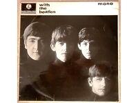 WITH THE BEATLES - ORIGINAL MONO LP 1963 - 2nd UK PRESSING - 'GOTTA' ERROR ON SLEEVE