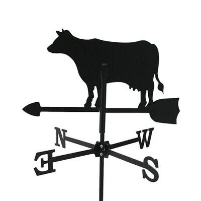 Standard Dairy Cow Metal Weathervane (Post Fixing Bracket)