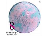 Jumbo Baby Powder Bath Bomb 200g