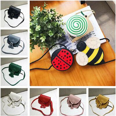 Cute Mini Shoulder Bag PU Leather Handbag Tote Crossbody Purse for Kids Girls - Bags For Kids