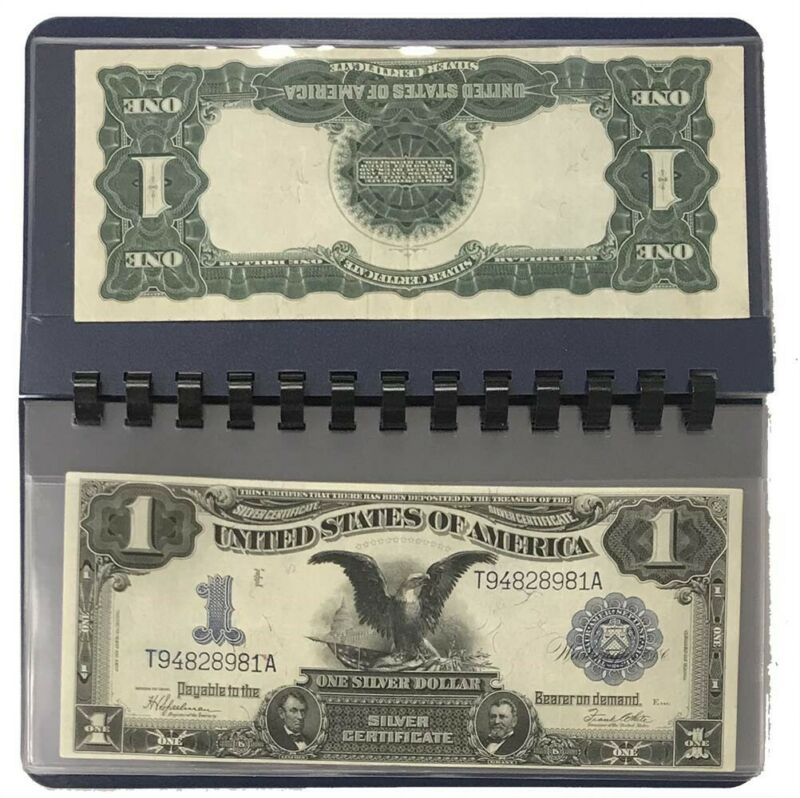 Currency Pocket Album For Large Modern Size Notes 10 Banknote Pages New Whitman