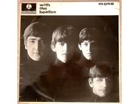WITH THE BEATLES - ORIGINAL MONO LP 1963 - 2nd UK PRESSING - 'GOTTA' ERROR ON SLEEVE