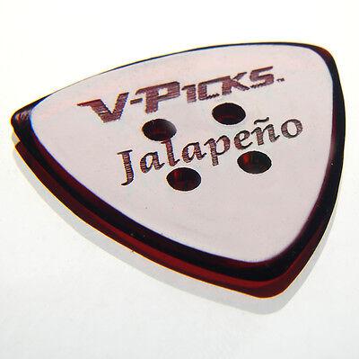 V Picks Jalepeno   Mandolin Guitar Pick