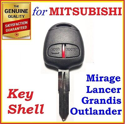Mitsubishi Lancer /Outlander /Mirage /Grandis Remote Key Shell Case 2 Buttons