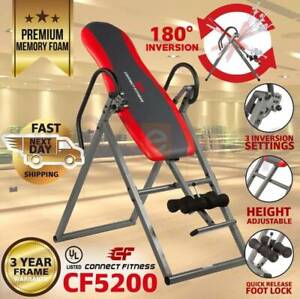 CONNECT FITNESS INVERSION TABLE Folding Upside Down Gravity Back