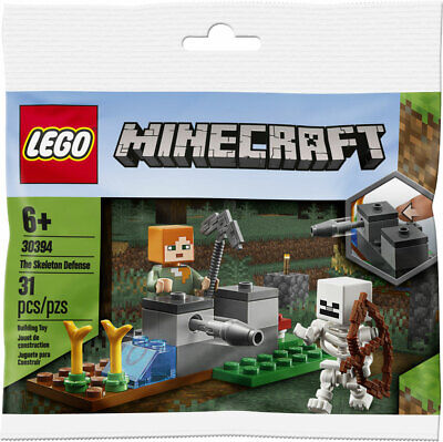 LEGO MINECRAFT Poly Bag - 30394 THE SKELETON DEFENSE - Brand New/Sealed