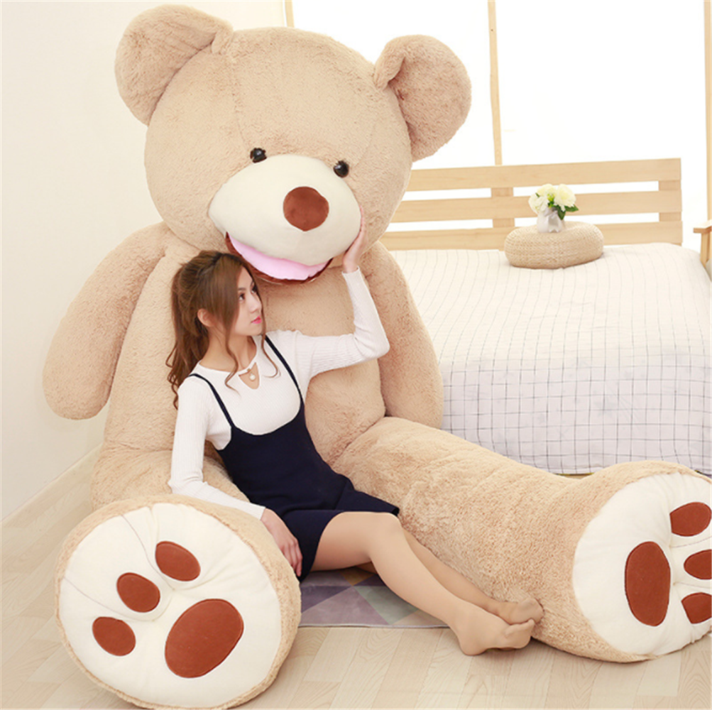 "11 Ft Gigantic Giant Teddy Bear 134/"" Stuffed Plush Animal Big Toy Birthday Gift"