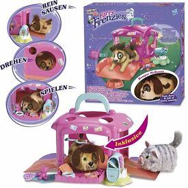FurReal Friends Furry Frenzies Cruisin' Carrier Includes Bumper McBones Pet Dog
