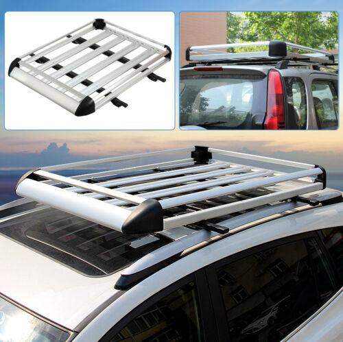 127x96cm Aluminum Roof Rack Car Suv Top Cargo Luggage Bag