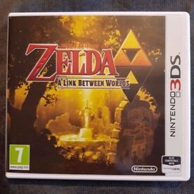 The Legend of Zelda: A Link Between Worlds - Nintendo 3DS + 2DS Game - Fun Kids Childrens - Like New