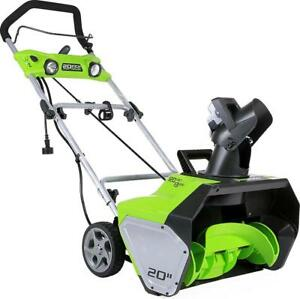 ELECTRIC SNOWBLOWER - BRAND NEW - YOU WON'T BELIEVE OUR CRAZY SURPLUS PRICES!!!!