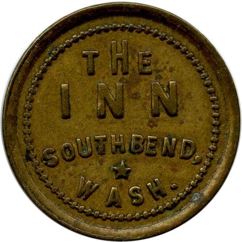 The Inn South Bend, Washington WA 25¢ Trade Token