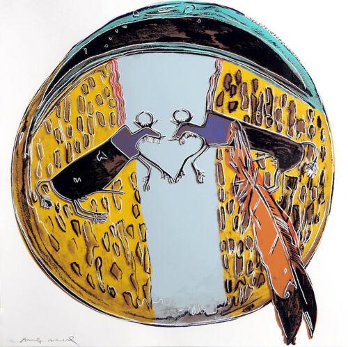 Andy Warhol Ii.382: Plains Indian Shield 1986 | Signed Screenprint | Gallart