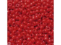 Neon Multi Mini Pony Beads made in USA 1,000pc crafts school VBS kandi jewelry