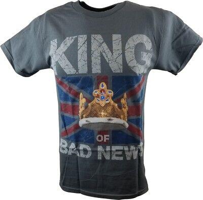 King Bad News Wade Barrett Wwe Authentic T Shirt