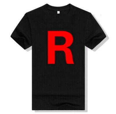 Team Rocket Uniform T-Shirt perfect for Pokemon Cosplay Shirt ](Team Rocket Cosplay)