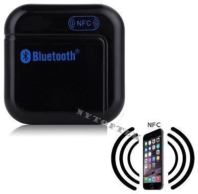 Music Receiver NFC Bluetooth 3.5mm Adapter Car AUX Speaker for iPhone 6 6 Plus