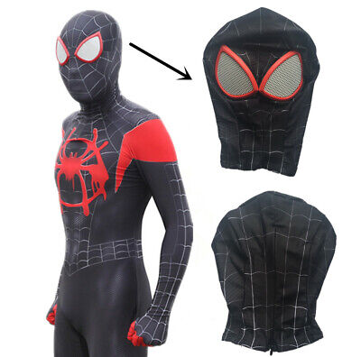 Spiderman into the spider verse Mask Headgear Face Shell for Adult Kids