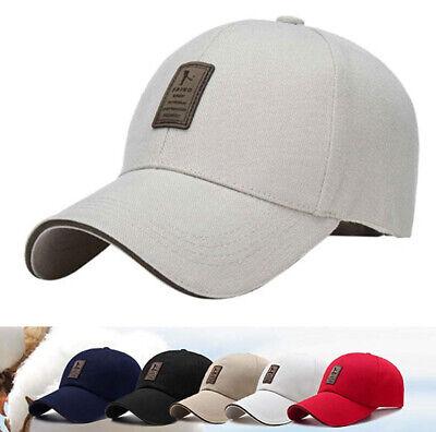 Baseball Washed Cotton cap Twill Adjustable Hat Goft Outdoor Headwear -