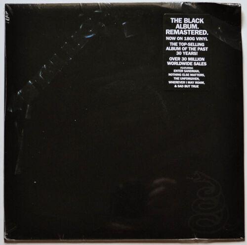 Metallica LP (Blackened Records, 2021, Remastered 180 gram) Bent Corners