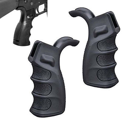 2Pack Model 15 Pistol GRIP With Finger Grooves for Defense W Bottom Storage