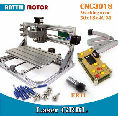 Mini Diy Cnc 3018 Router Pcb Engraving Milling Machineoffline Grbl Controler11